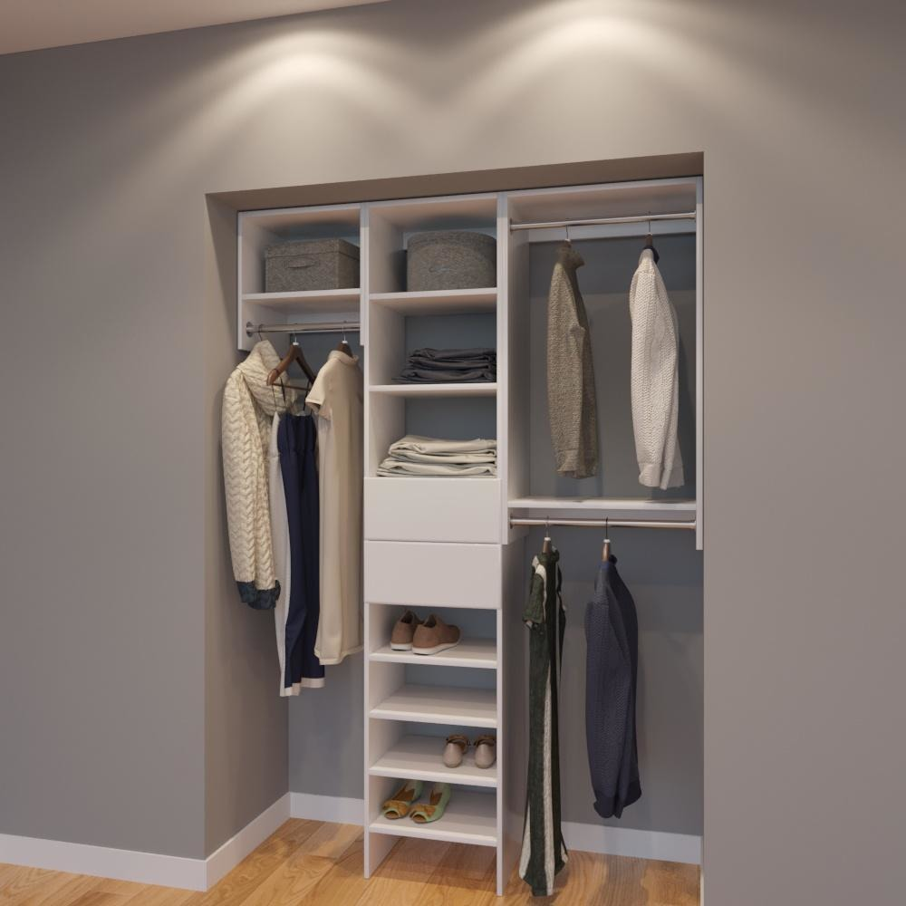 Superbe Modular Closets 3 4 034 Plywood 5 FT