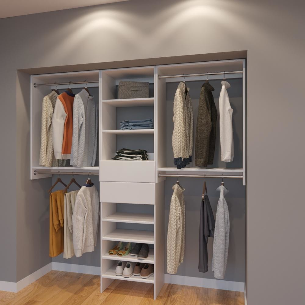 hardware small closet system for best units ideas choosing organizer you the organization systems storage remodel
