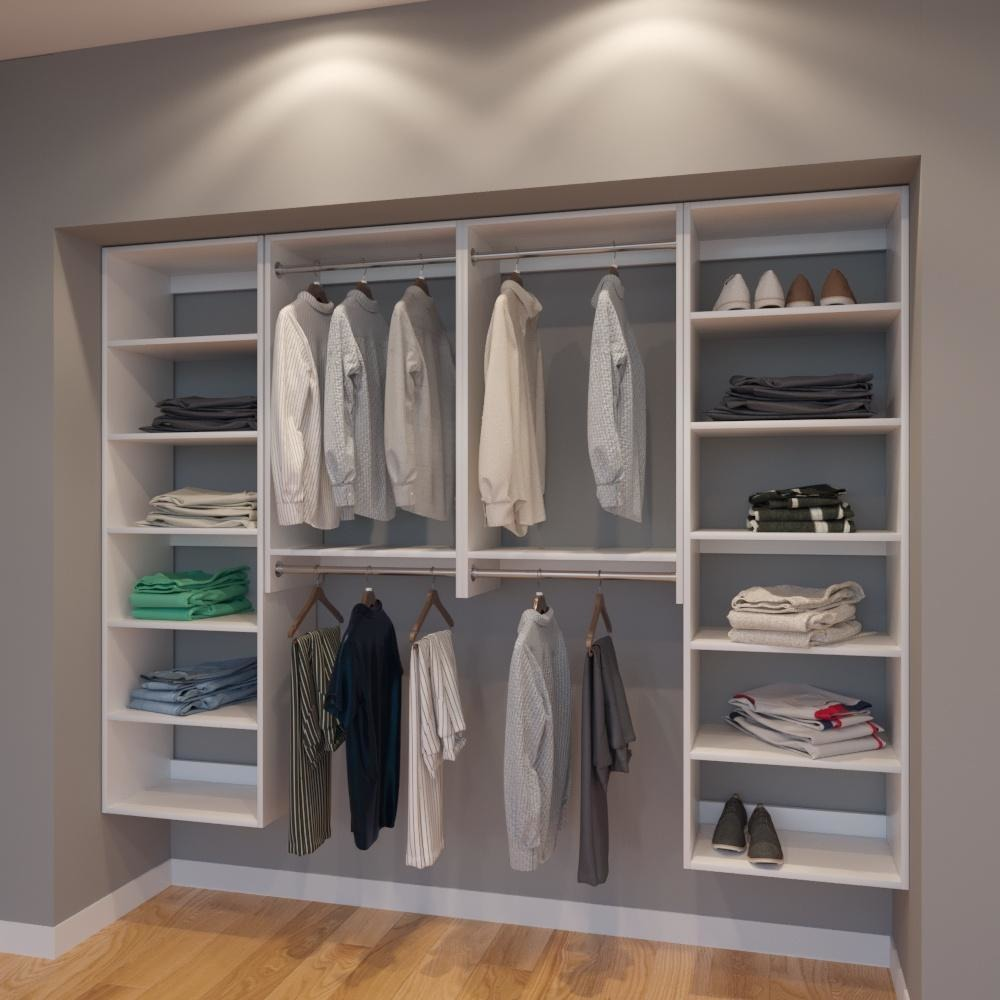 Modular Closets 3 4 034 Plywood 8 FT