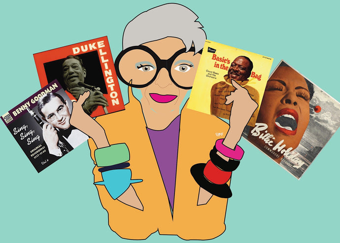 Jazz as Iris Apfel's Muse