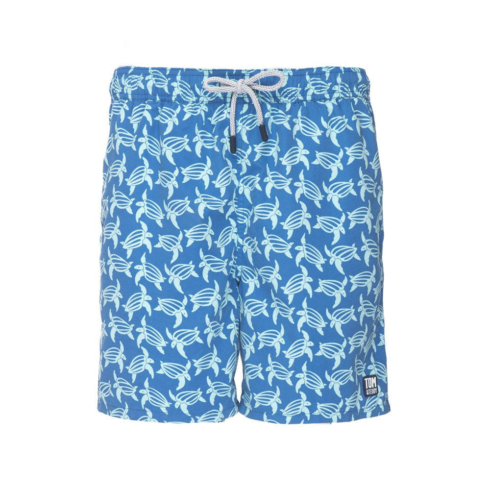 Tom & Teddy Turtle Swim Short