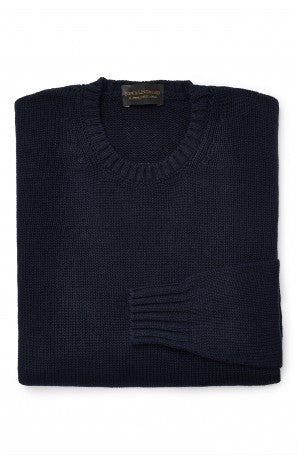 New & Lingwood Silk Crew Neck Sweater
