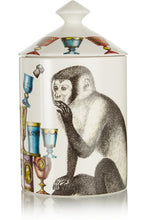 Fornasetti Scimmie Lidded Candle