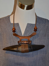 Indo Horn Necklace
