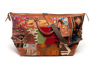 The Kilim Weekender Bag