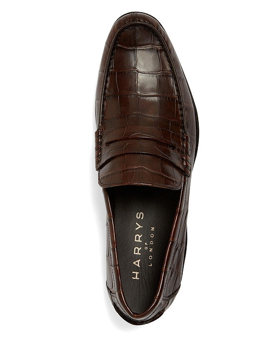 Harrys of London Alligator Loafer