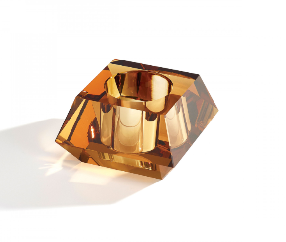 Atelier Swarovski x Barbara Barry Square Candle Holder