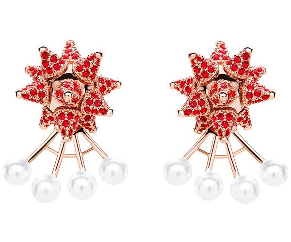 Atelier Swarovski The Greatest Showman Collection Detach Jacket Earrings