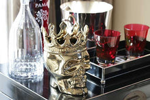 Thompson Ferrier Wood Charnel Bonaparte Skull Candle