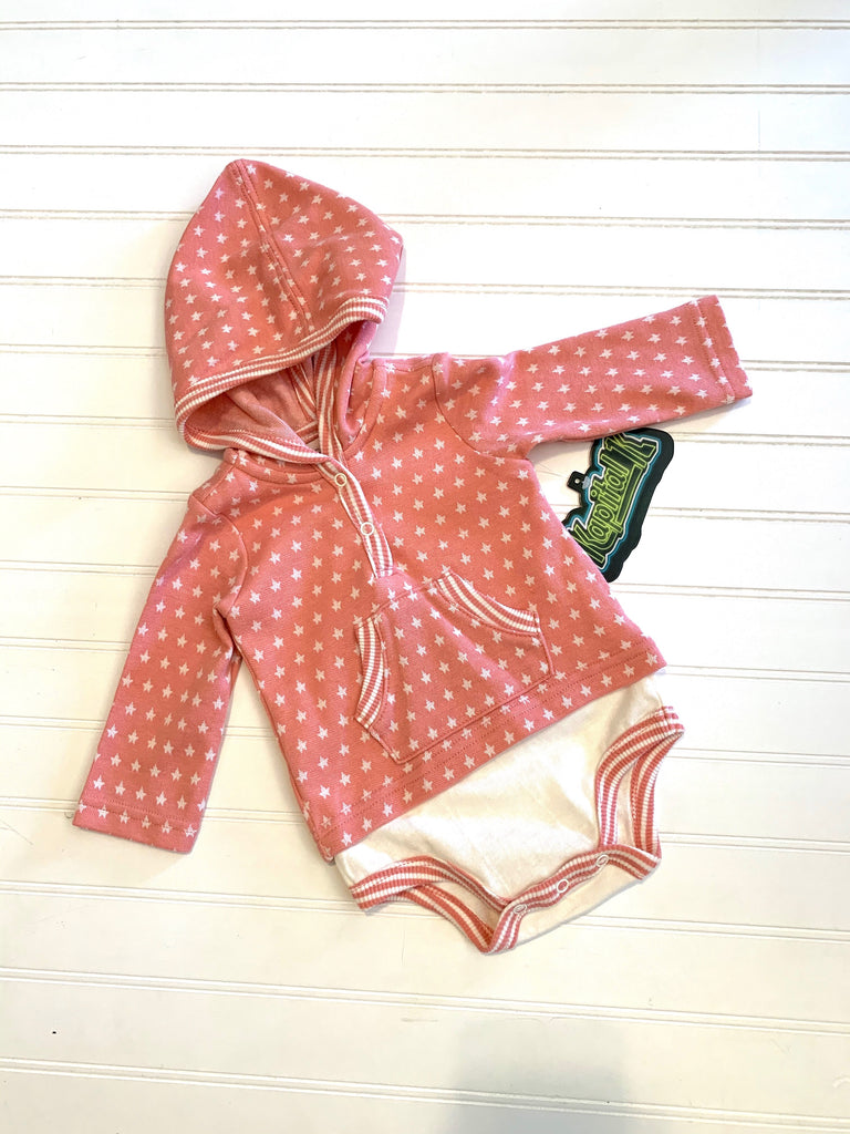 Pretty Pink Hooded Onesie