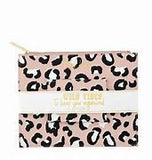 Mud Pie Zip Pouch and Credit Card Case