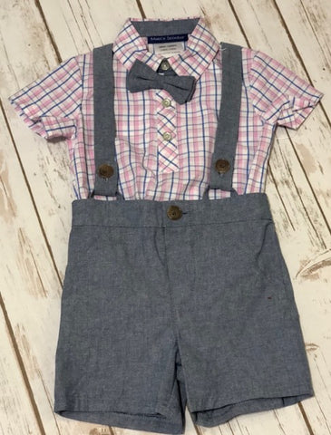 Boy's Truck Holiday 2 PC Set