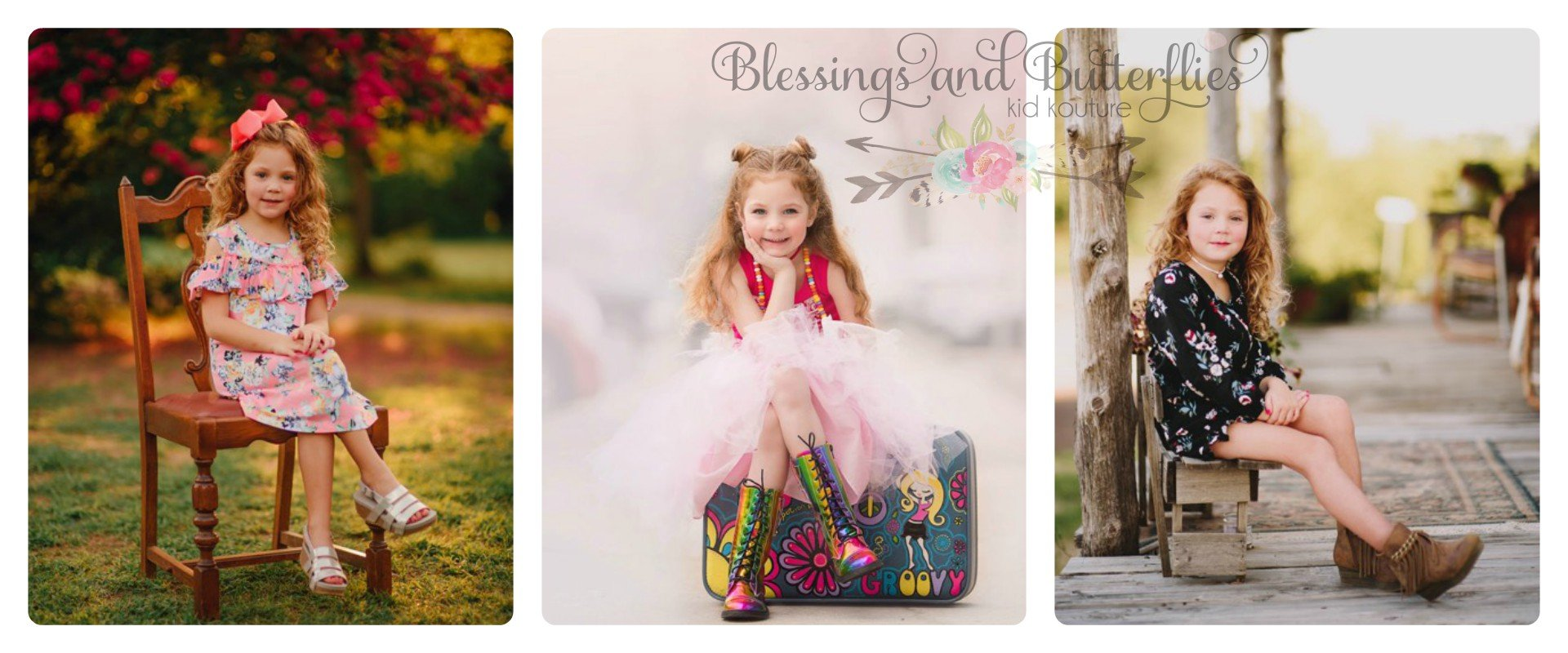 Blessings and Butterflies Children's Clothing