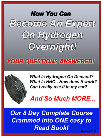8 Day Expert Course on HHO in One Manual
