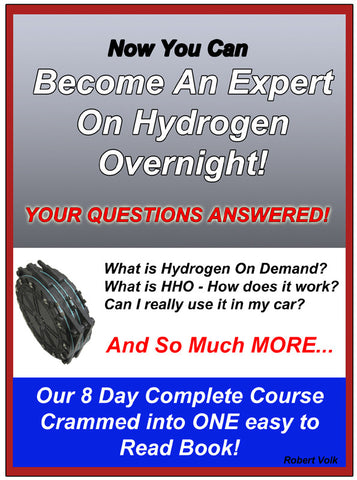 8 Day Expert Course on Hydrogen and HHO Kits