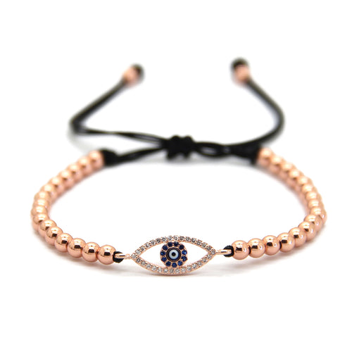 Chic Evil Eye - Rose Gold
