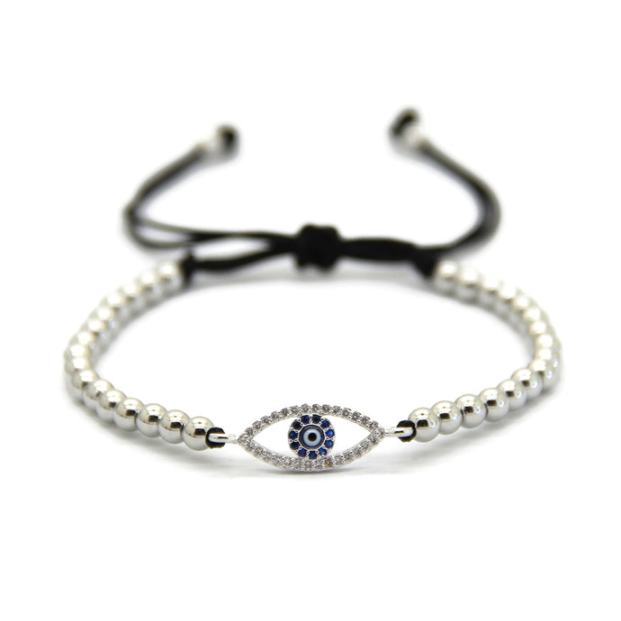 Chic Evil Eye - White Gold