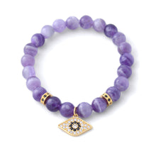 Marbella - Gold Eye & Amethyst
