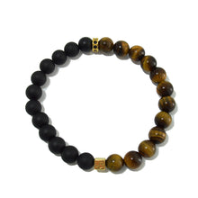 Hetsi - Tiger Eye & Onyx