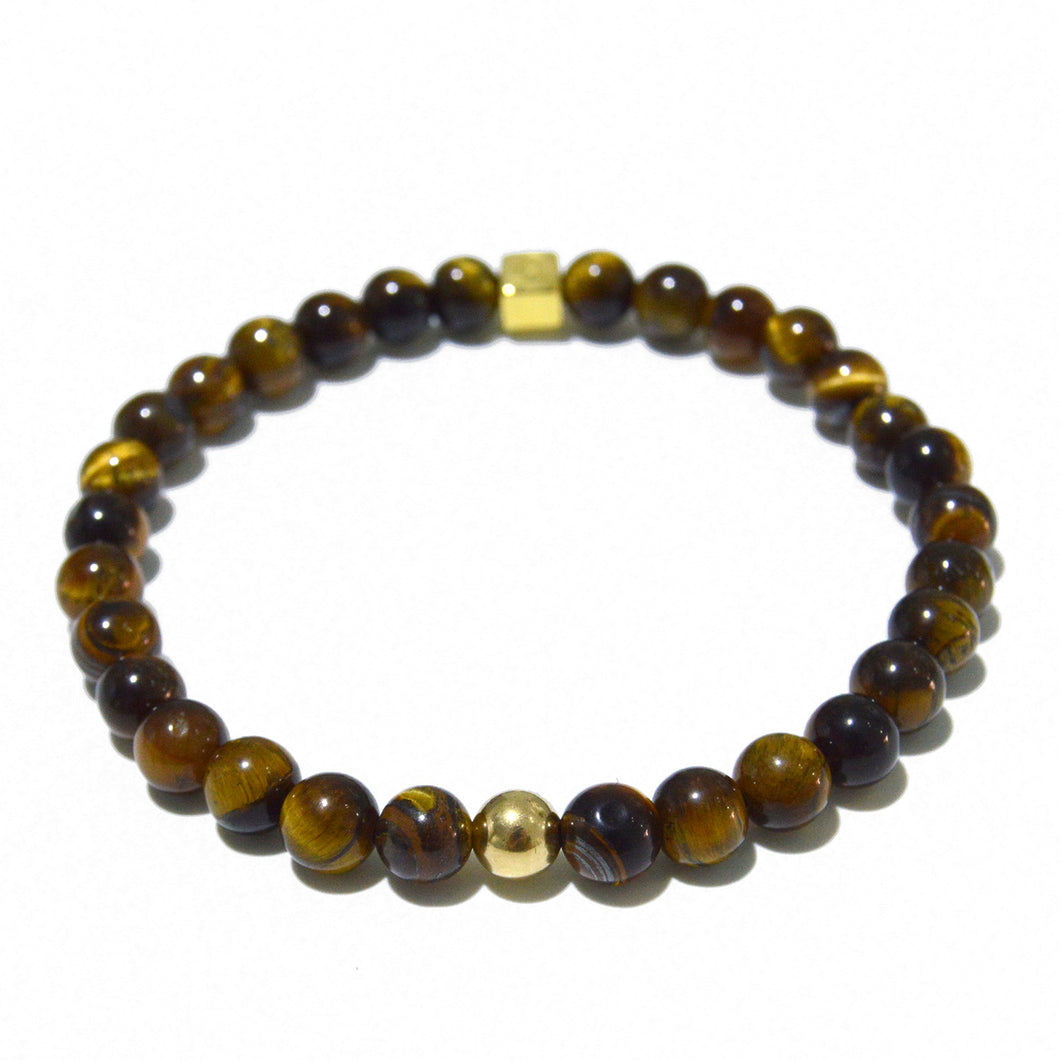 Tiger Eye and Gold