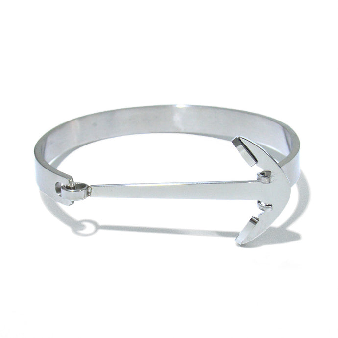 Anchor Steel - White Gold
