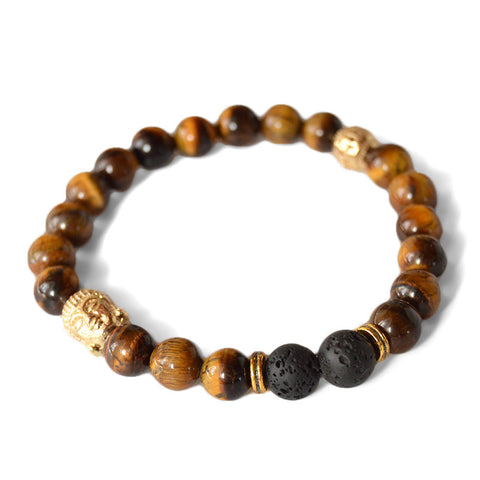 Tiger Eye Lava & Buddha