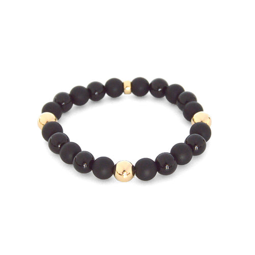 Serie Noire altered - with 14K Gold