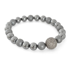 Grey Minimalist - with Diamonds