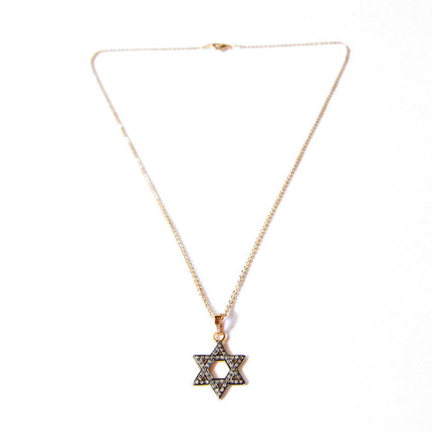 Star of David with Diamonds