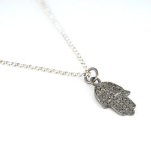 Hamsa with Diamonds