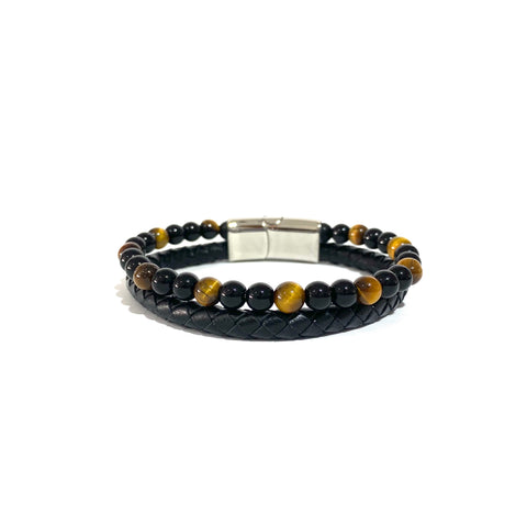 The Double-Tigers Eye & Onyx