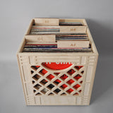 The Record Collector - Wooden Milk Crate