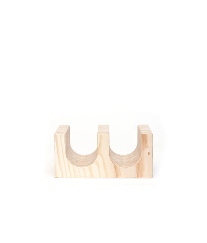 Tinder Block // Wine Rack