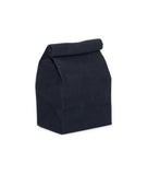 waxed canvas lunch bag black reusable eco friendly