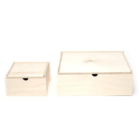 Sliding Lid Box