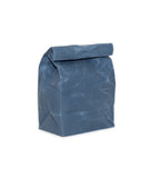 waxed canvas lunch bag wedgwood blue reusable eco friendly