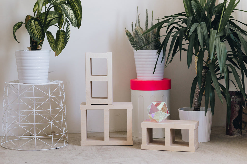 Wooden Milk Crates