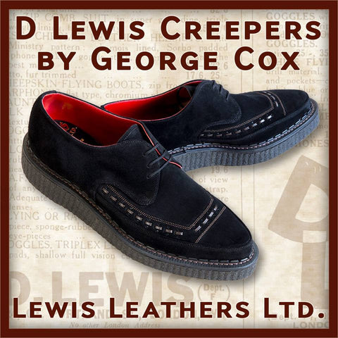 D.Lewis Creepers by George Cox Black (LL 2944V-BLACK)