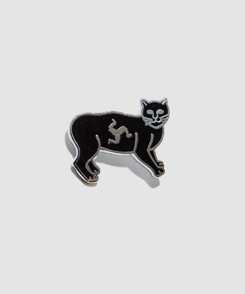 "Lewis Leathers Badge ""Manx Cat"""