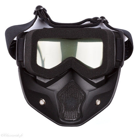 "Stormer Masque ""R-Mask Pearl"" Noir"