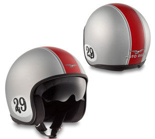 "Moto Guzzi ""Casque Racing 29 Chrome"" (606069M01RC)"