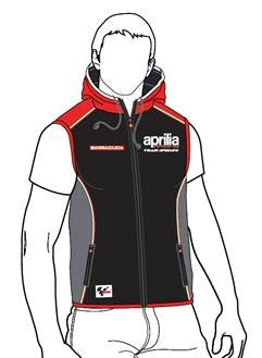 "Aprilia Vetements ""Racing Gilet SoftShell Noir"" (606225M01AR)"