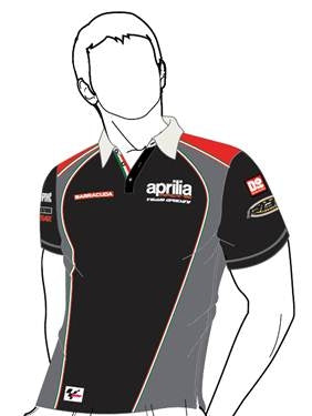 "Aprilia Vetements ""Polo Racing Noir"" (606226M01AR)"