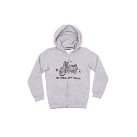 "Moto Guzzi Vetements  ""Sweat Enfant à Capuche My Bike My Pride"" (606237M01G)"