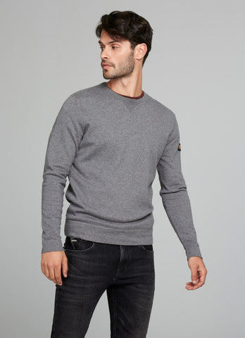 "Norton By Pepe Jeans Sweat ""SIDEVALVE"" Grey"