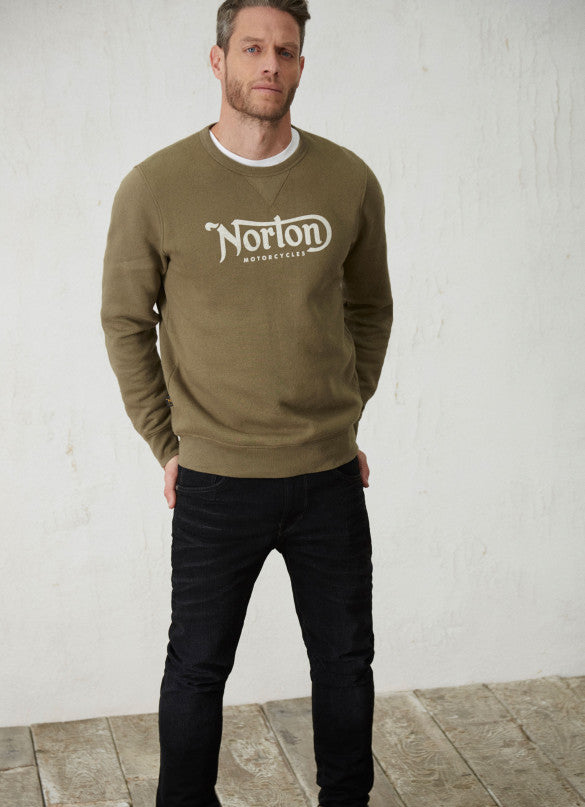 "Norton By Pepe Jeans Sweat ""FASTBACK"" Military Green"