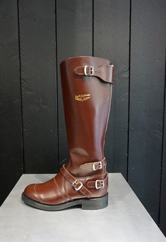 "Lewis Leathers Boots ""Motorway"" Brown (LL 191-Brown)"