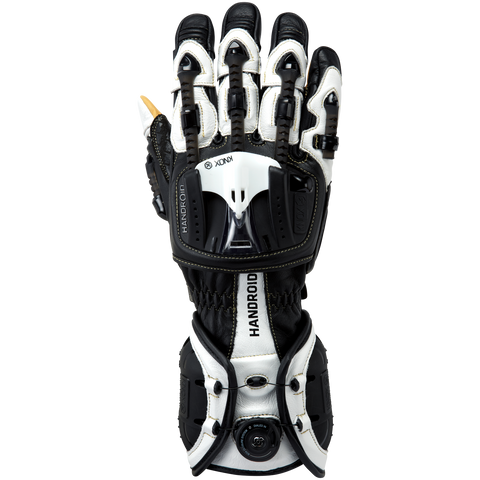 "Knox Gloves Men ""Handroid Motorcycles Black&White"" (KNX 11536010040)"