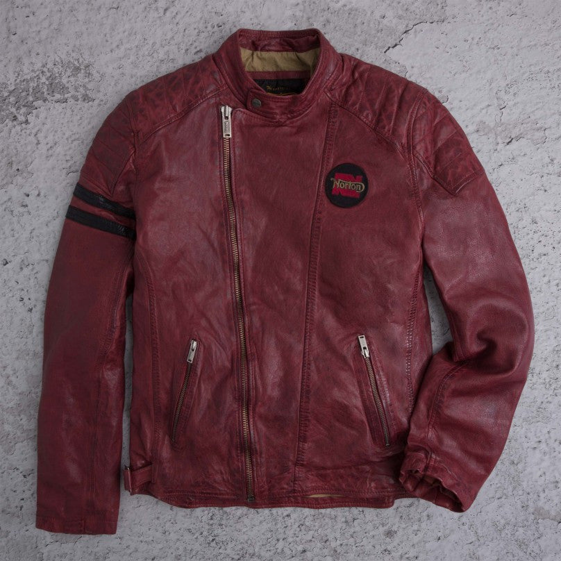 "Norton By Pepe Jeans Jacket ""DUKE"" Bordeaux"