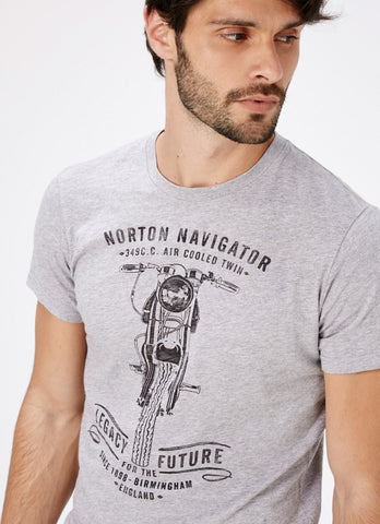 "Norton By Pepe Jeans T-Shirt ""MURREY"" Grey"